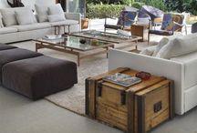 Salones, salas de estar (living rooms): decoración