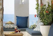 Terrazas, jardines: decoración