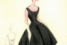 Bocetos de moda/ Fashion desings