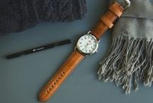 Men's Fashion / Stand out in the crowd with a custom watch band on a classic watch.