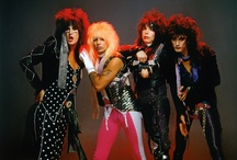 Dudes Lookin' Like Ladies: Glam Rockers, Hair Bands, & The Looks That Kill / The decade of decadence... via hair spray.  / by Em Star