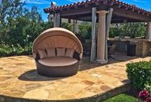 Daybeds / Explore some of the luxurious, comofrtable options we carry in outdoor daybeds for your patio furniture collection and decor.
