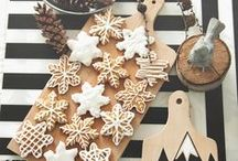 christmas / Christmas styling and food ideas.