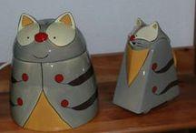 Tolle Teekannen / Ich sammle Katze Teekanne. Nicht ganz obsessiv aber ab und zu sehe ich einer, den muss ich haben!  I collect cat teapots, here on pinterest mostly pictures...