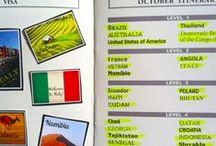 Classroom Geography Activities / Great activities to help your students learn world geography! www.passportclubonline.com