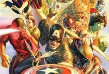 Heróis e Vilões / Aqui eu vou pinar todas as imagens que eu achar interessante sobre o mundo dos heróis e vilões dos quadrinhos