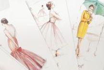 Croquis de mode et patrons