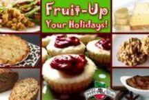 Fruit-up your Holidays / Fruit-up your #Holidays with #BrothersAllNatural #Fun Fruit-Filled #Recipes
