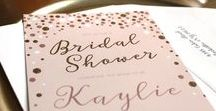Bridal Shower Invitations / Invite people to your bridal shower before the wedding with Bridal Shower Invitations designs that are available at the CatPrint.com Template Gallery for you to send to your family and friends! Completely customizable with your own details, images, and even color variations!