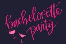Bachelorette Party / These are Bachelorette Party Invitation designs that are available at the CatPrint.com Template Gallery! Completely customizable with your own details, images, and even color variations!