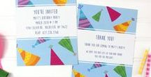 Happy Birthday! / Invite people to your birthday party with these Birthday Party Invitation designs that are available at the CatPrint.com Template Gallery for you to send to your family and friends! Completely customizable with your own details, images, and even color variations!