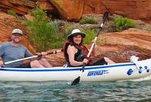 Kayaking / Kayaking is a great way to explore the waters of America - while helping you stay fit. Here are some fun places, products, tips and articles.