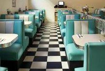 AMERICAN DINER | Design and Food // Diner Impressionen