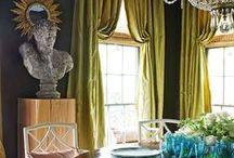 Spaces and Decor / Paint, Color, Decor, Rooms, Decorating, Spaces