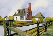 Watercolor / Watercolor tutorials & inspirations