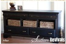 DIY - Pallets & Dresser do-overs / Amazing what you can make out of a PALLET!!! And check out these great ideas to transform an old or unused dresser into something FABULOUS! ~MHE / by Michelle Eliason