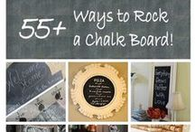 DIY - Chalkboards / To make another smile...  to send a different message daily... or even for organization! ~MHE / by Michelle Eliason