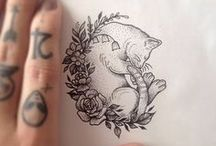 TATTOOS / A collection of tattoos and interesting designs!