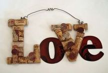 DIY - WINE CORKS / Look at the GREAT things to make with WINE CORKS! Ladies, drink up! LOL / by Michelle Eliason