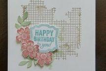 Stampin' Up! - Birthday / Birthday cards