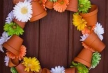 Wreaths Galore 2! / Wonderful ideas to express through a WREATH ~MHE / by Michelle Eliason