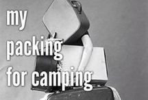 Camp Life / Ideas for making summer camp easier and FUNNER!