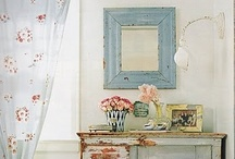 Shabby Chic / Shabby chic furniture and home decor.  Beautiful painted furniture, floral bedding, and lovely pastel home decor.   / by Studio1404