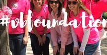 Follow the Foundation / The Vera Bradley Foundation for Breast Cancer was founded on courage, compassion and commitment.