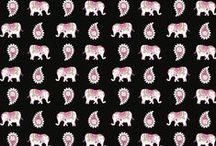 2008 Patterns / Inspiration for 2008 Prints: Pink Elephants