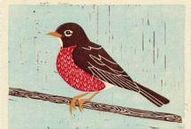 Fabric Birds to sew / fabric birds