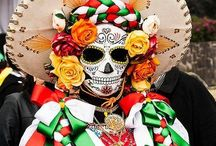 Dia de los muertos ... Cultura / Day of the dead .. Mexican tradition to celebrate those who have passed