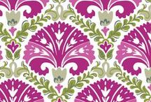 Inspiration: Julep Tulip / A celebration of one of our favorite signs of spring, this structured tulip design features a wash of fresh violet, bright magenta and spring green. The lining features a stylized garden lattice of woven tonal stripes. Shop Julep Tulip at www.verabradley.com. / by Vera Bradley