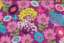 Inspiration: Flutterby / Fresh-cut wildflower bouquets mingle with whimsical butterflies in a field of radiant orchid, purple, turquoise and citrine. Shop Flutterby at www.verabradley.com. / by Vera Bradley