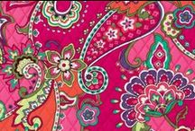 Inspiration: Pink Swirls / Bright pinks are joined by aqua, citron, violet, orange and green in a medley of paisleys and florals. Pink Swirls is also the latest color to raise awareness for the Vera Bradley Foundation for Breast Cancer. Shop Pink Swirls at www.verabradley.com.  / by Vera Bradley
