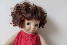 Cloth Dolls Vintage / by Edna Boland