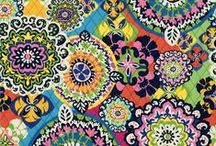 Inspiration: Rio / A kaleidoscope of exuberant pinks, blues, yellow and green cavorts alongside brilliant orange.  Shop Rio in stores or online at verabradley.com.  / by Vera Bradley