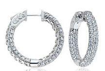 DIAMOND EARRINGS / #DiamondEarrings are truly a #girlsbestfriend