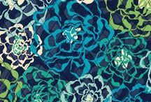 Inspiration: Katalina Blues / A tonal color story of cool blues and greens creates a refreshing minimalist palette. / by Vera Bradley