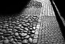 fotografía banco y negro