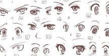 eye drawings