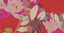 Pattern: Bohemian Blooms / Inspiration in pictures behind Bohemian Blooms