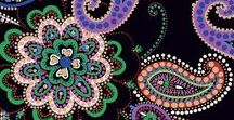 Pattern: Kiev Paisley / Inspiration in pictures for the Winter 2016 pattern, Kiev Paisley.