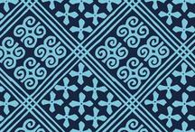 Pattern: Cuban Tiles / Inspiration for Spring 2017 pattern, Cuban Tiles