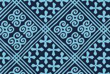 Pattern: Cuban Tiles / Inspiration for Spring 2017 pattern, Cuban Tiles