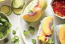 Get Local: Stone Fruits / Recipes for apricots, peaches, plums, nectarines, and more.