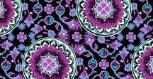 Pattern: Lilac Medallion