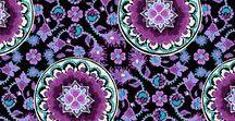 Pattern: Lilac Medallion