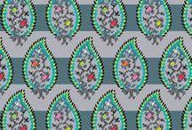 Pattern: Paisley Stripes