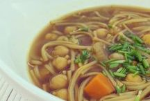 Vegan Soups / More Vegan Soups Recipes here http://www.flexiblevegan.com/category/recepies/soups/