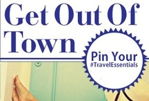 Chic Travel Essentials / This is your official summer travel passport. Pin your chic #TravelEssentials!